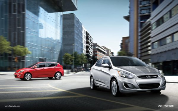 Hyundai Accent sedan and hatchback